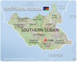 Map of Southern Sudan
