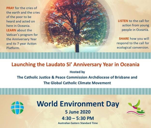 Laudato Si Anniversary Year Launch